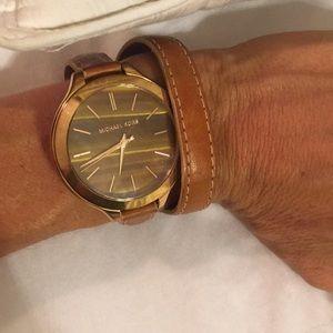 Women's wrap Michael kors watch